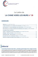 LA LETTRE DE LA CHINE HORS LES MURS N°39