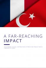 Etude sur l'impact des entreprises françaises sur l'économie turque (Version anglaise)
